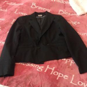 Worthington stretch black jacket